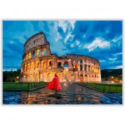 Cappuccetto Rosso al Colosseo